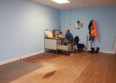 Bob in his old office