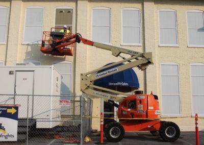 Sealing up the windows