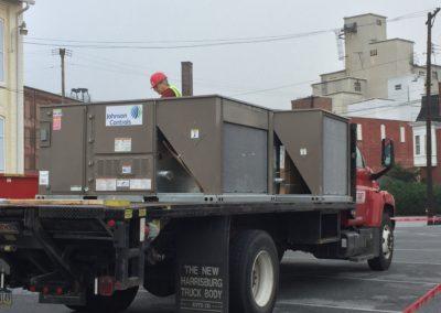HVAC delivery