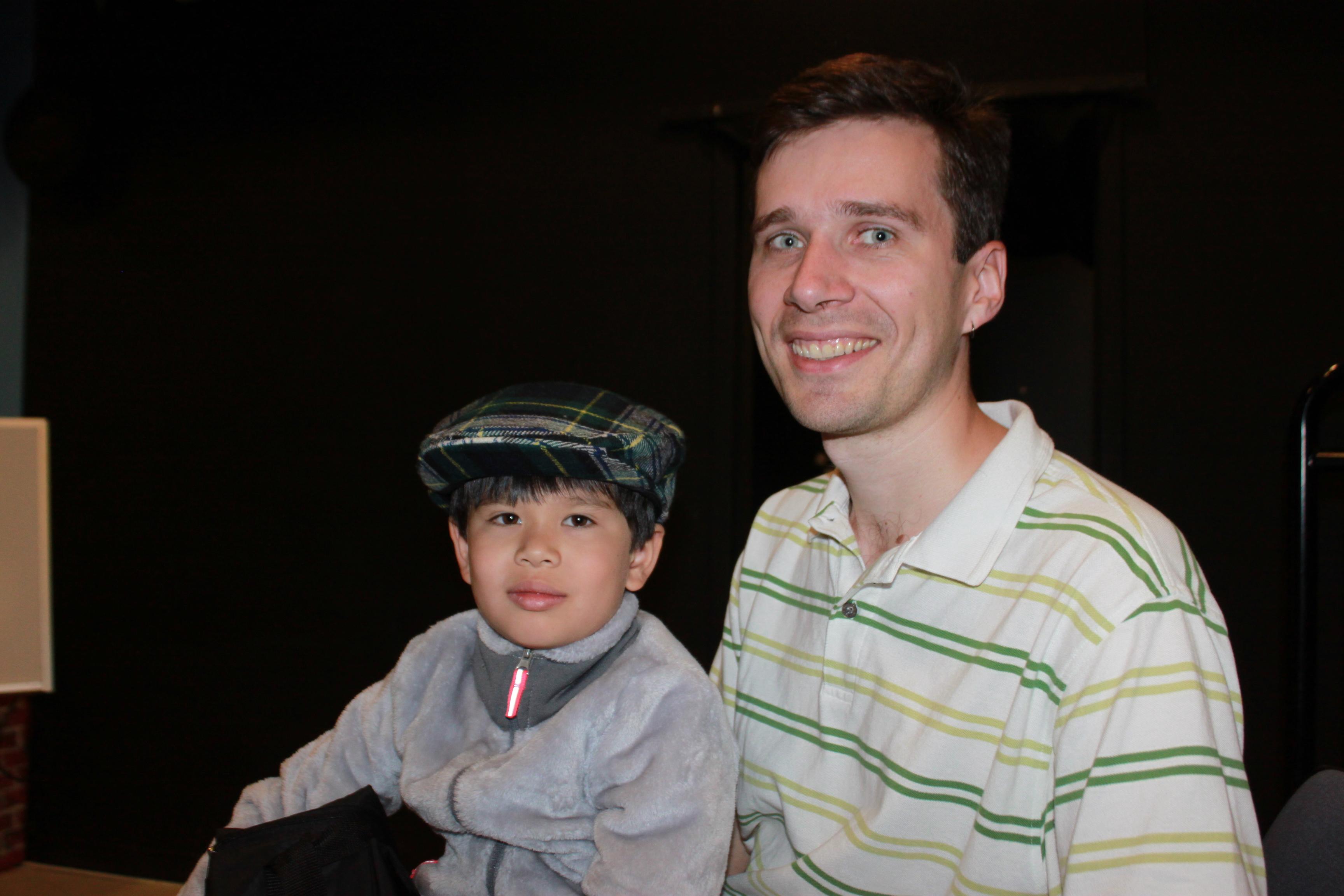 Joe Nabholz with son William