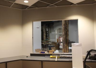 Box office window