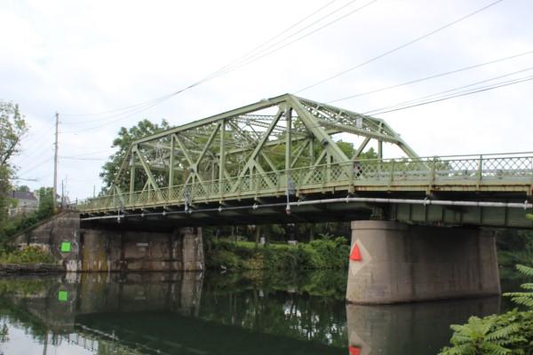Seneca Falls truss bridge